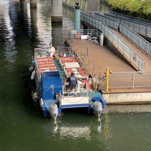 日本橋川クルーズも楽しめます
